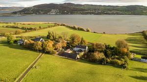 Inch house overlooks the Lough Swilly