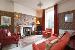 The drawing room of 18 Brighton Square
