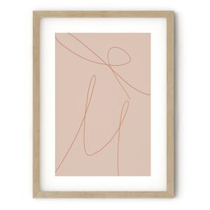 Print, €20 Dress your walls to match with an abstract print, unframed; abstracthouse.com