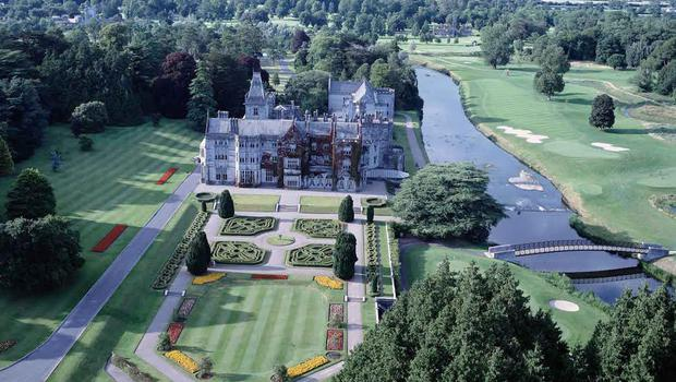 The world famous Adare Manor Hotel - number 6 is located within its demesne