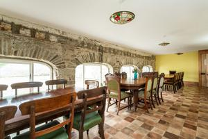 A large dining room
