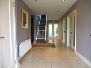 The hallway of the property in Dalkey