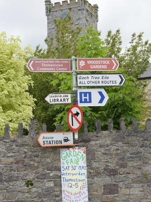 Thomstown street signs