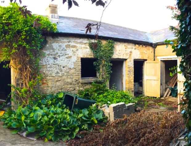 BEFORE: an old stone coach house renovation by de Blacam and Meagher