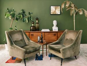 Armchairs by Brendan Dunne from Oriana B Interiors