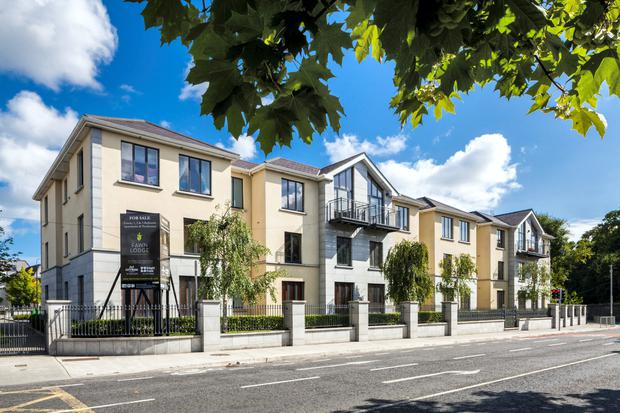 Apartments in Fawn Lodge, Castleknock, have open-plan kitchen, dining area and living space