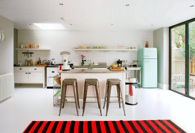 Clean lines: kitchens have become more bespoke and individual