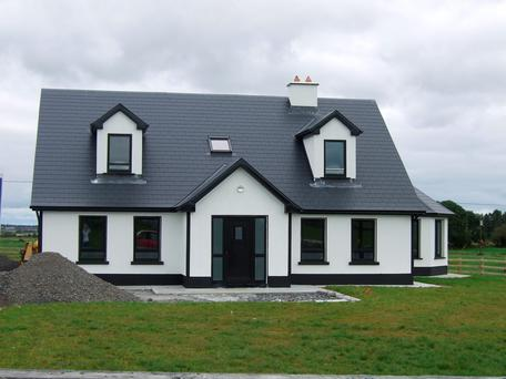 Galway retreat in bog heritage zone for Bungalow designs ireland