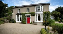 Killiney House at Killiney Hill Road which was home to Jim Kerr and Patsy Kensit