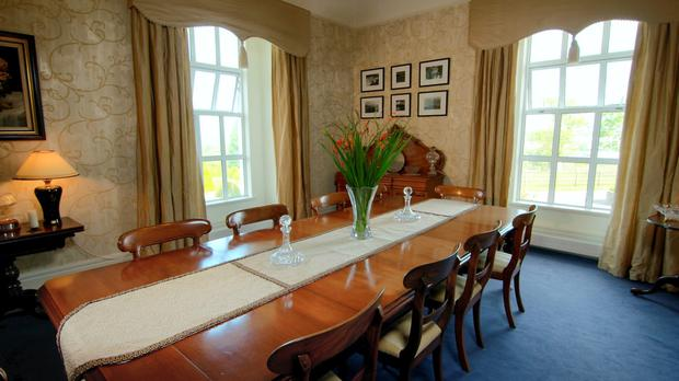 The Dining Room At Moynsha