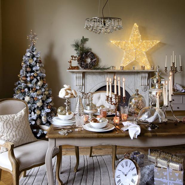 how marks and spencer see your christmas deco and below designer helen turkington says