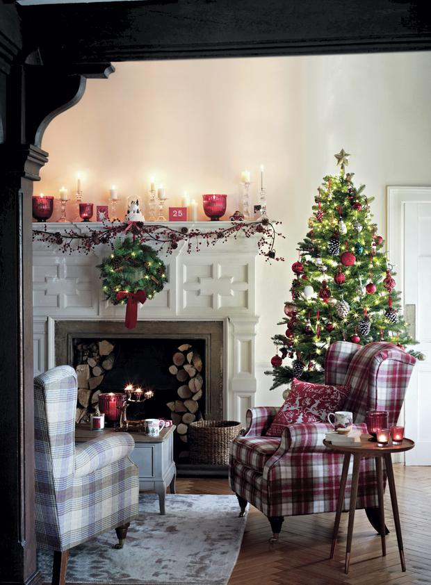 marks and spencer christmas decor