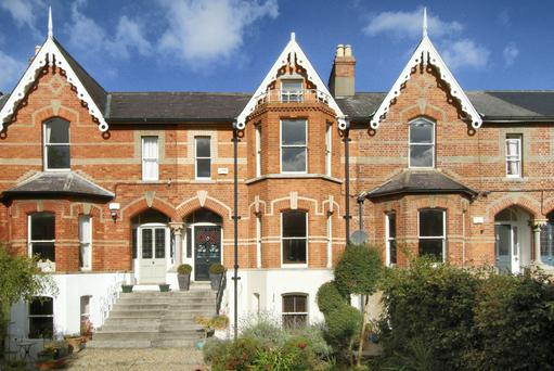 Attractive architecture is a hallmark of the Cowper Road property.