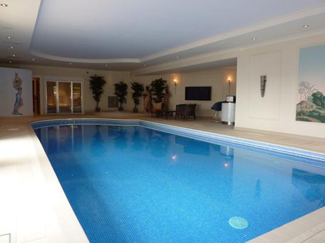 Dip your toes into the delights of the heated swimming pool