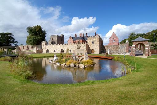 Netterville incorporates a manor, castle and chapel within its walls.