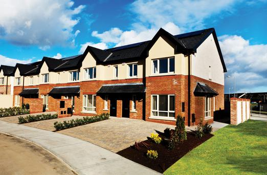 Three and four-bed homes at Newtown Hall in Maynooth