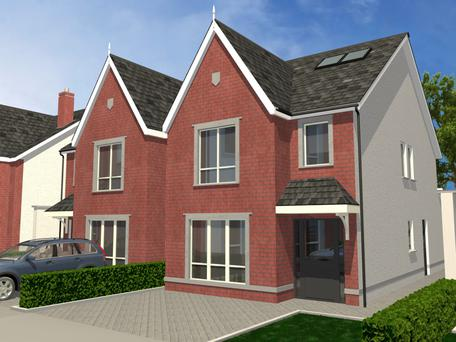 Beresford is a development of 58 houses in Donabate