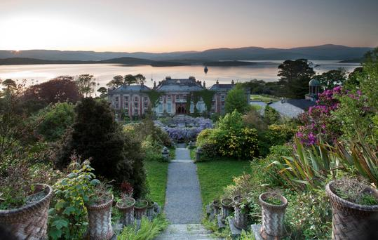 Bantry House, its gardens and Bantry Bay, from The irish Garden (pub. Frances Lincoln, 2015) by Jane Powers, with photographs by Jonathan Hession