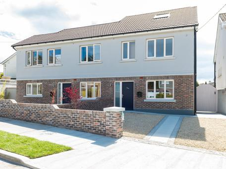 Two new homes are available in Granitefield, Dun Laoghaire