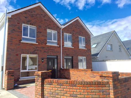 Six homes are being built in Sallygrove, Ballycullen