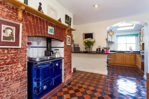 The kitchen at 32 St Lawrence Road