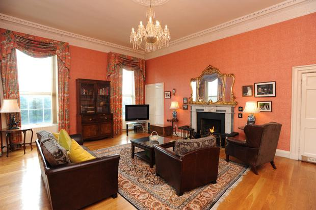 One of the main reception rooms