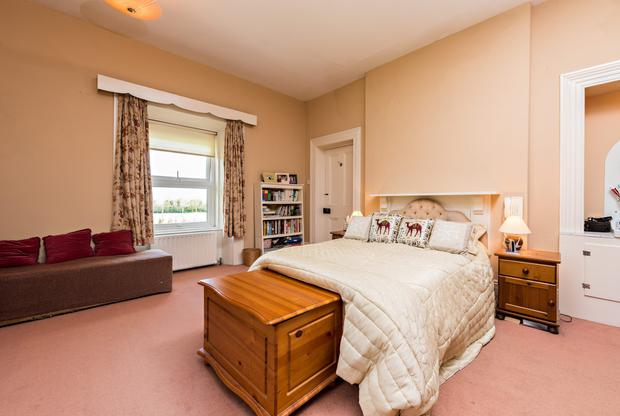 One of the bedrooms at Park House