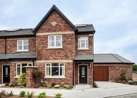 Some of the smaller two- and three-bedroom Castlegrange homes are on view tomorrow and Sunday.