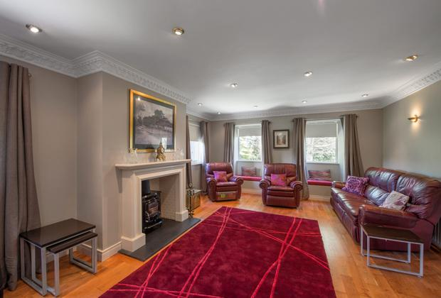 The living room at Granville