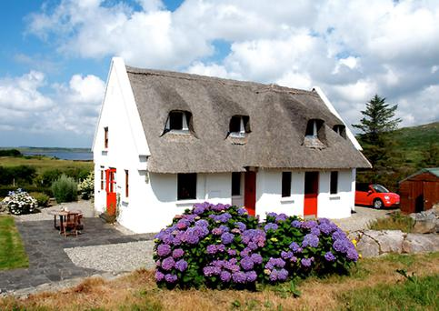 Despite its traditional appearance, The Cottage was built only 20 years ago