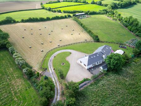 Set on six-and-a-half acres of pasture land, Hawthorn House is only 35 km from Dublin