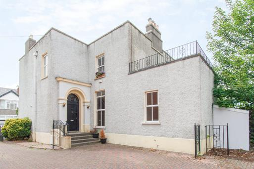 The two-bedroom townhouse offers a generous 1,150 sq ft of accommodation