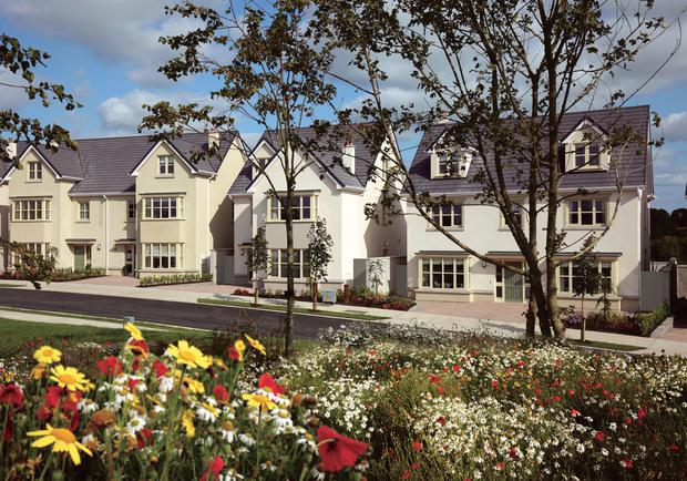 The properties at Piper's Hill in Naas