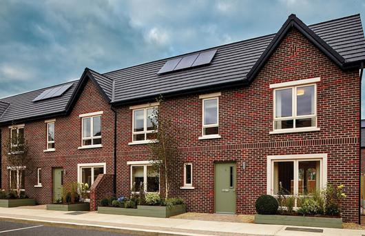 Parkside development on the Malahide Road offers three and four-beds with 1950s-inspired exteriors Mix retro
