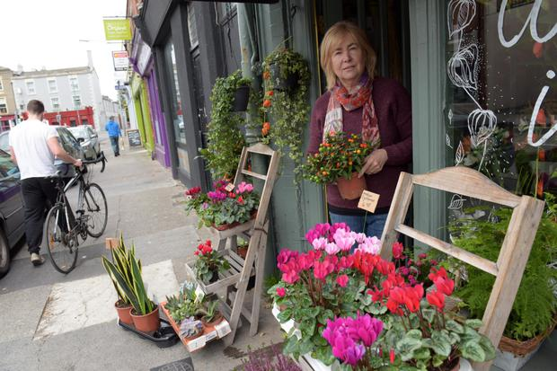 A busy florist in Rathgar.
