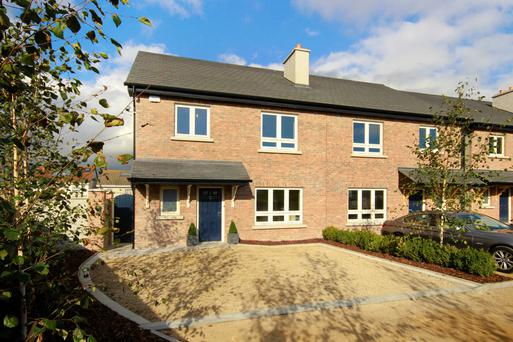 The first four properties in Heatherton, Bray will be completed early next year.