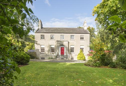Glebelands was completed in 1813 as a rectory for the Church of Ireland minister of the village.