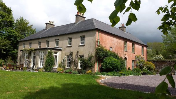 The listed country house sits on 31 acres of land with a range of outbuildings