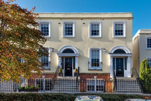 5 Simmonscourt: the townhouse has 2,215 sq ft of accommodation