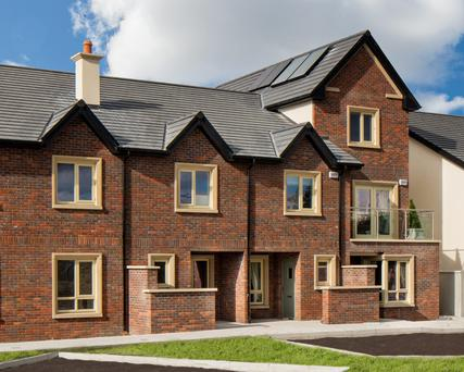 Hayfield homes are fitted with high-performance windows and solar panels.