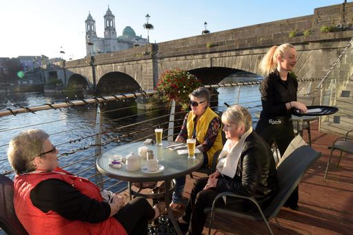 On the banks of the Shannon in Athlone
