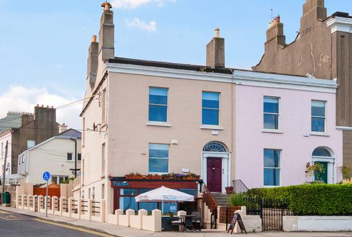 A Victorian corner house, it sits on the seafront and offers 2,000 sq ft of accommodation