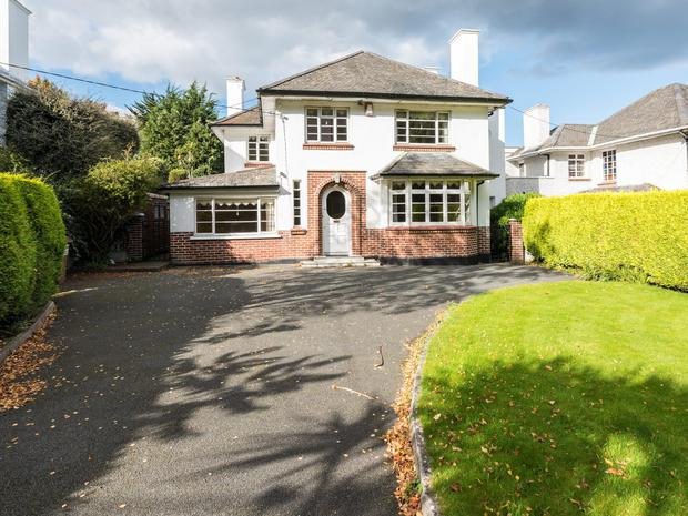 8 Stillorgan Grove in Blackrock, Co Dublin, is a five-bedroom detached home on the market for €550,000