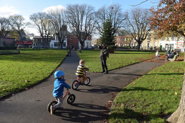 Sandymount Green is a prime spot for families.