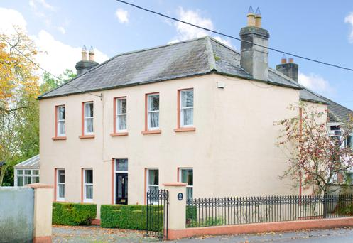 This Victorian property has been renovated while maintaining its period features.