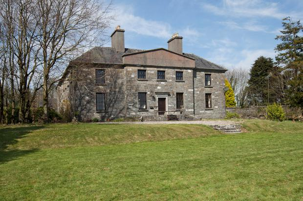 Farragh House is a nine-bed period home built on 3.9ac in Mullingar
