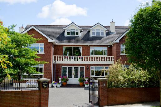 Number 35 Castleknock Lodge is a large family home of 4,900 sq ft with six double bedrooms.