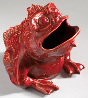 Frog by Frederick Vodrey