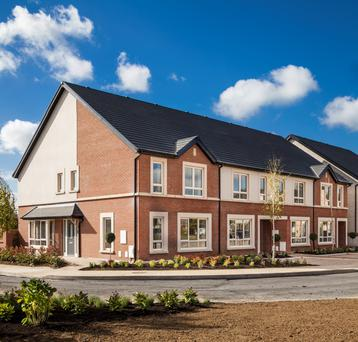 The Beechpark homes are aimed at families.