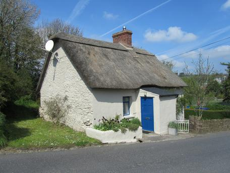 The Thatch was built in the 19th century, but the cottage has a modern interior.